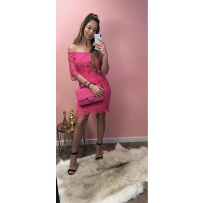 Jaimy Fake love dress fuchsia