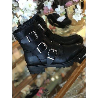 Jaimy Triple buckle boots