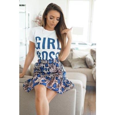 Jaimy GIRL BOSS T-SHIRT BLUE