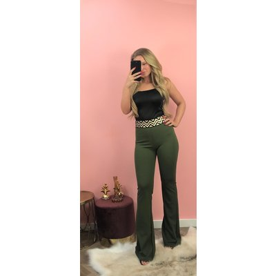 Jaimy The FAB gold flair ARMY GREEN