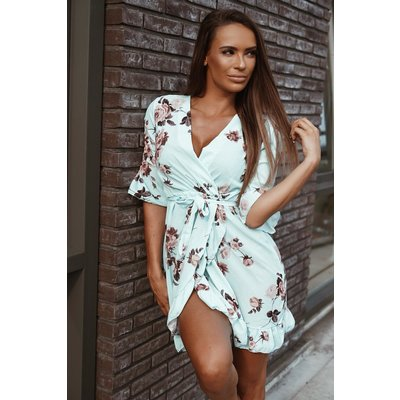 Jaimy Blossom for you dress mint