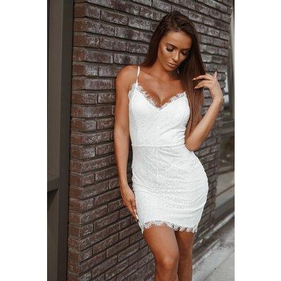 Jaimy Romantic dress WHITE