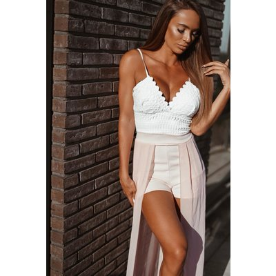 Jaimy LIMITED LUCY jumpsuit WHITE PINK