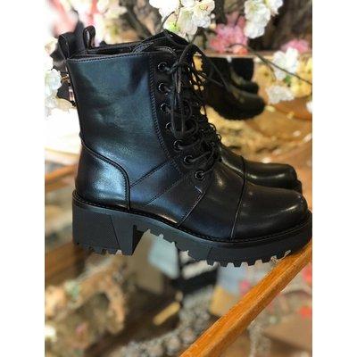 Jaimy All time boots MAT ZWART