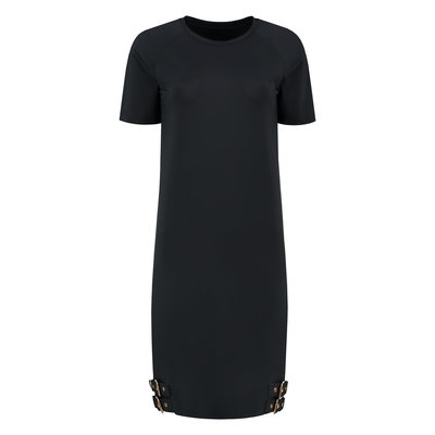 NIKKIE Suzy tee dress black
