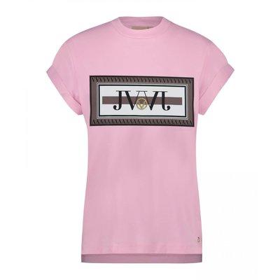 Josh V Dora JV t shirt FRESH PINK