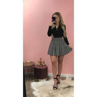 Jaimy Check skirt
