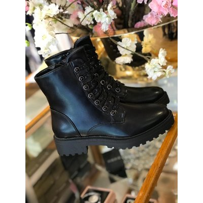 Jaimy Forever yours boots mat black