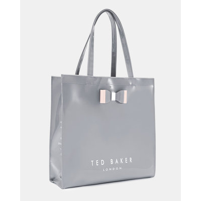Ted Baker Bow detail large light grey