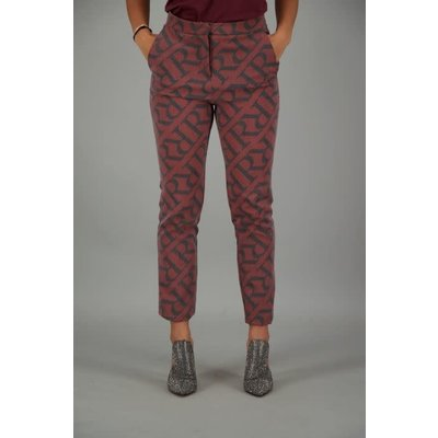 Reinders pants rr suit burgundy