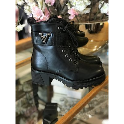 Jaimy The queen v boots LEATHER