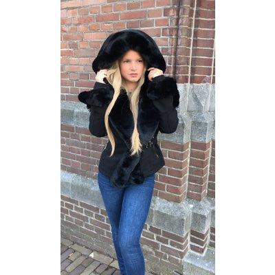 Jaimy BRITNEY coat BLACK