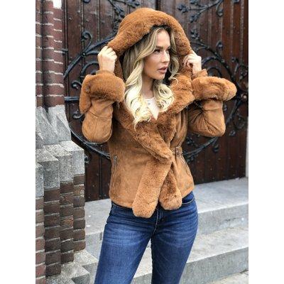 Jaimy BRITNEY coat WOODSMOKE