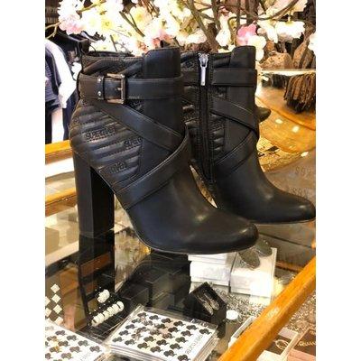 Supertrash Geri logo ankle boots