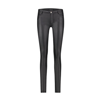 SUPERTRASH Parady black faux leather jeans