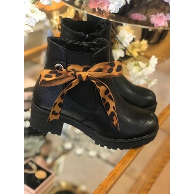 Jaimy Emma boots BLACK/BROWN