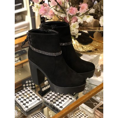 Jaimy Diamonds are forever ankle boots