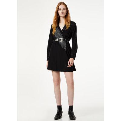 Liu Jo Short Dress With Fringes