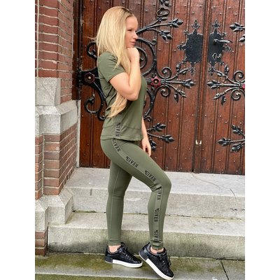 Given Channah PANTS army green