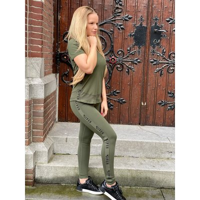 GIVEN Esmee T-SHIRT army green