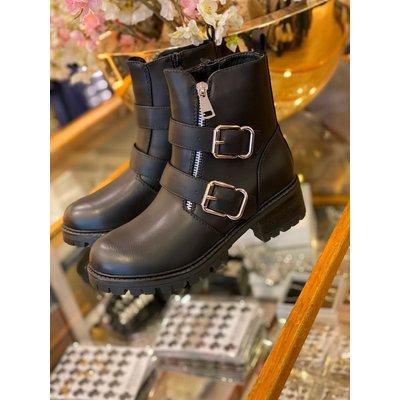 Jaimy Zoe buckle boots
