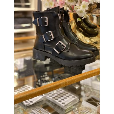 Jaimy LIMITED Triple buckle boots