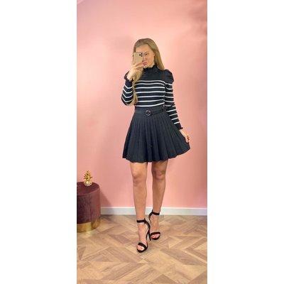 Jaimy Bali sparkle skirt black