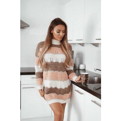 Jaimy Myla sweaterdress beige
