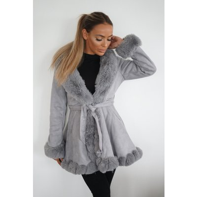 JAIMY Winter is coming jacket grey