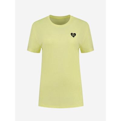 NIKKIE Round t shirt yellow
