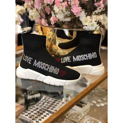 LOVE MOSCHINO Sneaker running 35 calza Nero