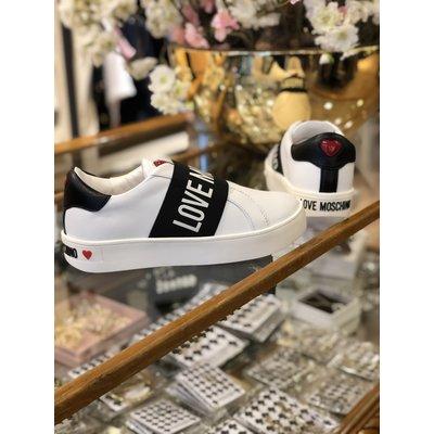 LOVE MOSCHINO Sneaker cassetta35 Offwhite