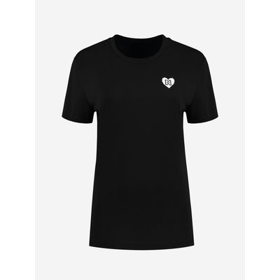 NIKKIE Round t shirt black