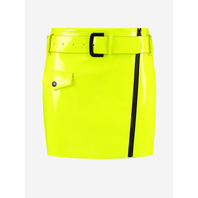 NIKKIE Ellen skirt fluo yellow