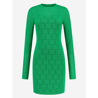 NIKKIE Khloe dress jade