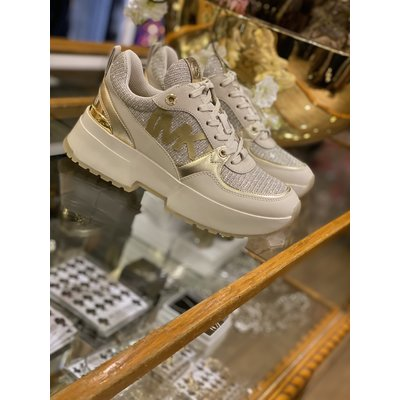 MICHAEL KORS Ballard trainer Pale gold