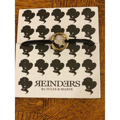REINDERS Lock bracelet diamonds gold
