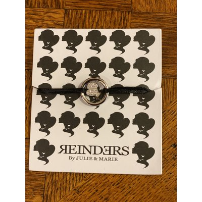 REINDERS Lock bracelet diamonds silver