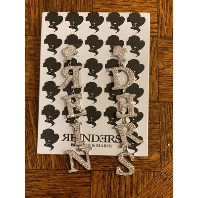 REINDERS Reinders earrings diamonds silver
