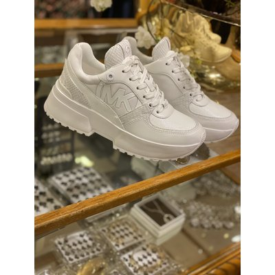 MICHAEL KORS Ballard trainer Optic white