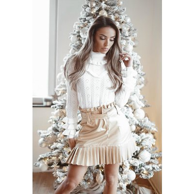 JAIMY Shake up the party top white