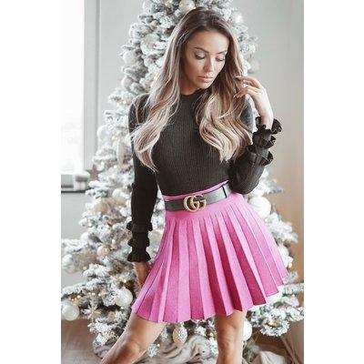JAIMY Fuchsia sparkle skirt
