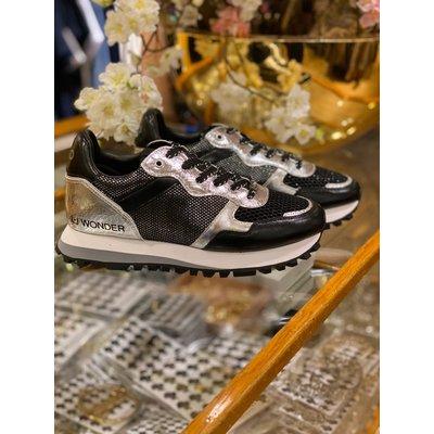 LIU JO Liu Jo Wonder sneakers black zilver