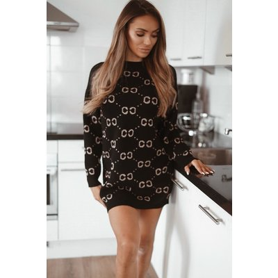JAIMY Adore sweaterdress black