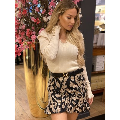 JAIMY top aafje lace beige
