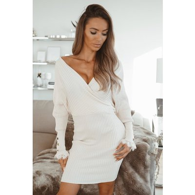 JAIMY LACE The love dress beige
