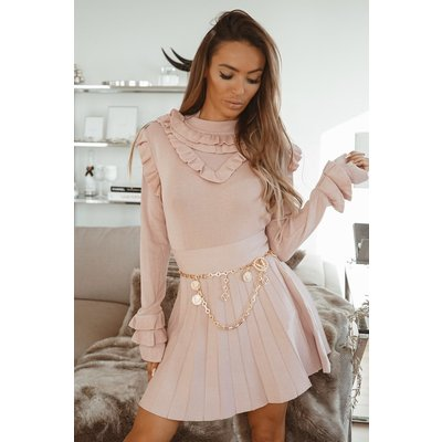 JAIMY Ruffles LOVES top old pink