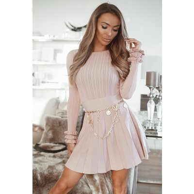 JAIMY Ruffle limited top oldpink