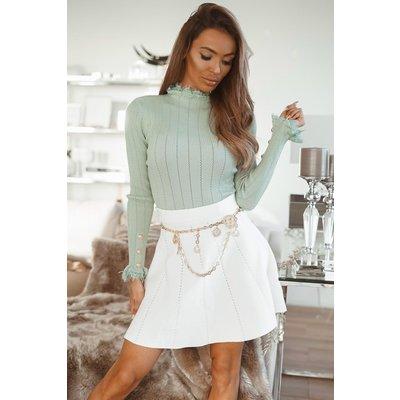 JAIMY Linde skirt white
