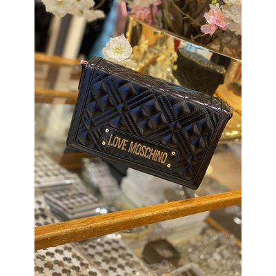 LOVE MOSCHINO Evening bag black